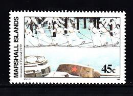 Marshalleilanden 1989 Mi Nr 275 Second War:  Invasie Van Sowjetunie In Finland - Marshalleilanden