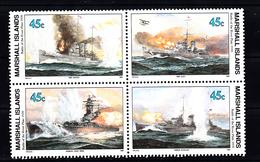 Marshalleilanden 1989 Mi Nr 275 Second War:  Zeegevecht Bij  De Monding Van  Rio-de-la-Plata - Marshalleilanden