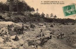 91 SOUZY-la-BRICHE  Les Carrières Des Bois Des Roches - Other Municipalities