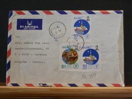 76/985  LETTRE  BRUNEI TO BELG.  1981 - Brunei (1984-...)