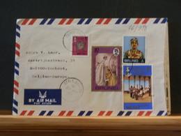 76/988  LETTRE  BRUNEI TO BELG.  1981 - Brunei (1984-...)
