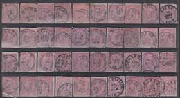 N° 30  GEST. OBLIT. - 1865-1866 Profiel Links
