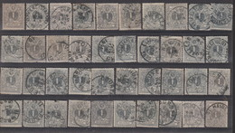 N° 80  GEST. OBLIT. - 1866-1867 Kleine Leeuw