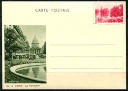 """Entier Vues De Paris,  Série N° 5 Y Et T, Sans Légende """"République Française"""", Carte N° 13 - Cartes Postales Types Et TSC (avant 1995)"""