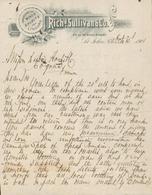 Canada - Saint John - Entête Du 15 Octobre 1901 - Richd.Sullivan & Co. - Importers Of Wines Spirits And Liquors. - Canada