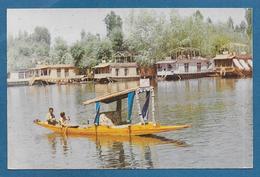 INDIA SHIKARA IN DAL LAKE KASHMIR - India