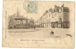 36-26 -Argenton - La Place D' Armes - France