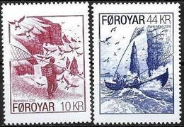 Faroer/Faroe/Féroé: Uccelli Marini Delle Isole Faroer; Seabirds Of The Faroer Islands, Oiseaux De Mer Des îles Faroer - Marine Web-footed Birds