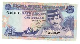 Brunei 1 Dollar Ringgit 1992 XF - Brunei