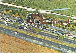 V2569 Carabinieri - Vigilanza Sulla Circolazione Stradale - Elicottero Helicopter / Viaggiata 1976 - Elicotteri