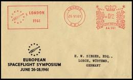 Grossbritannien / UK: Stempel / Cancel 'European Spaceflight Symposium, 1961', London - Covers & Documents