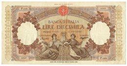 10000 LIRE CAPRANESI REPUBBLICHE MARINARE REGINE DEL MARE 24/01/1959 BB/BB+ - [ 2] 1946-… : Repubblica