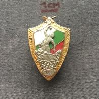 Badge (Pin) ZN006658 - Gymnastics Bulgaria Federation / Association / Union - Gymnastics