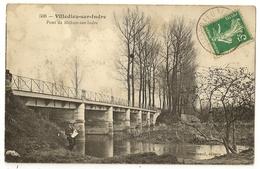 36-3- Villedieu-sur-Indre - Pont De Mehun-sur-Indre - France