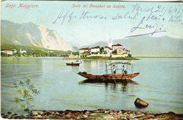 Lago Maggiore. Isola Dei Pescatori Da Levante -  Lot. 1810 - Verbania