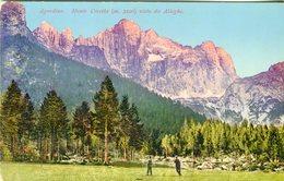 Agordino. Monte Civetta Visto Da Alleghe -  Lot. 1812 - Belluno