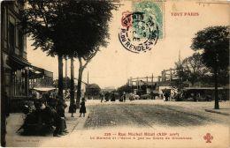 CPA TOUT Paris 12e 229 Rue Michel Bizot Le Marché Et L'Usine A Gaz F. Fleury (479221) - Arrondissement: 12