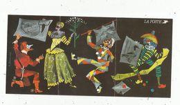 CALENDRIER ,6 Pages,2 Scans ,1993 , LA POSTE , Carnaval - Calendriers