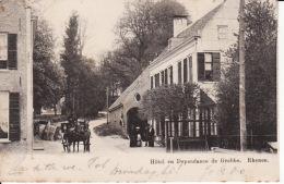 230-74Rhenen, Hotel En Dependance De Grebbe  1903  (in Het Midden Een Doordruk Van Het Stempel) - Rhenen