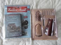 Hachette Citroen Traction Avant 11 BL Cabriolet 1939 Numéro 1 - Model Making