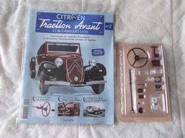 Hachette Citroen Traction Avant 11 BL Cabriolet 1939 Numéro 2 - Model Making