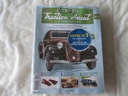 Hachette Citroen Traction Avant 11 BL Cabriolet 1939 Numéro 3 - Model Making