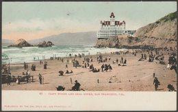 Cliff House And Seal Rocks, San Francisco, California, C.1905 - Owl Drug Co U/B Postcard - San Francisco