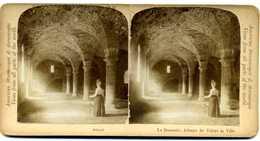 Photos  Stéréoscopiques Albuminées - Belgique  - Brabant Wallon - Abbaye De Villers La Ville - La Brasserie - Photos Stéréoscopiques