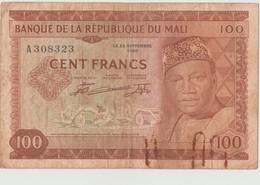 BANQUE DE LA REPUBLIQUE DE MALI, CENT FRANCS, 22 SEPTEMBRE 1960. F. - Mali