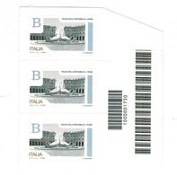 0,95 CODICE A BARRE PIAZZA DELLA REPUBBLICA ROMA - 2011-...: Mint/hinged