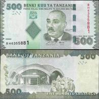 Tanzania 2010 - 500 Shillings - Pick 40 UNC - Tanzania