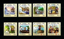 Granadinas (St. Vicente)  Nº Yvert  546/53  En Nuevo - St.Vincent Y Las Granadinas