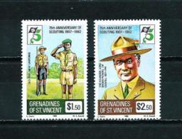 Granadinas (St. Vicente)  Nº Yvert  246/7  En Nuevo - St.Vincent Y Las Granadinas