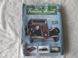 Hachette Citroen Traction Avant 11 BL Cabriolet 1939 Numéro 7 - Model Making