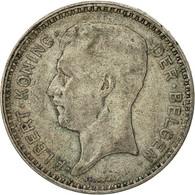 Monnaie, Belgique, 20 Francs, 20 Frank, 1934, TTB, Argent, KM:104.1 - 1909-1934: Albert I