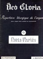 Partition ,repertoire Lithurgique De L'organiste - Keyboard Instruments