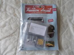 Hachette Citroen Traction Avant 11 BL Cabriolet 1939 Numéro 21 - Model Making