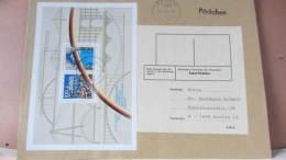 """BRD-VGO: Päckchen Mit Block """"Maueröffnung"""" Vom Portoletzttag Für Pn Zu 1,50 DM Aus Leipzig 26 Vom 30.6.91 A5 Knr:  Bl 22 - [7] Federal Republic"""