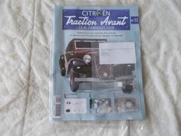 Hachette Citroen Traction Avant 11 BL Cabriolet 1939 Numéro 22 - Model Making