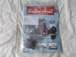 Hachette Citroen Traction Avant 11 BL Cabriolet 1939 Numéro 25 - Model Making