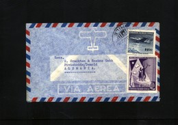 Chile  Interesting Airmail Letter - Chile
