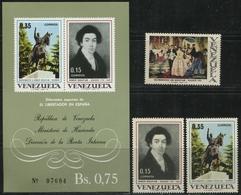 A 1969 VENEZUELA: Bolívar En España - Venezuela