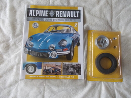 Eaglemoss Collection Renault Alpine A110 1600S Berlinette Numéro 2 - Unclassified