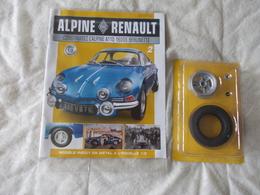 Eaglemoss Collection Renault Alpine A110 1600S Berlinette Numéro 2 - Model Making