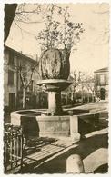 CPSM-Photo - La Fontaine - LE BEAUSSET - Le Beausset