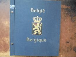 """BELGIQUE En ALBUM """"DAVO"""" OBLITEREE DONT CHEMINS DE FER (2044) 2 KILOS - Collections"""