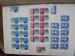 BELGIQUE MODERNE FACIALE NEUVE EN BANDE DE 5 Et 10(2046) 1 KILO 250 - Collections
