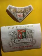 7991 - Gewurztraminer 1966 Charles Jux 1966 Déchirure Bord Gauche, Réparée - Gewurztraminer