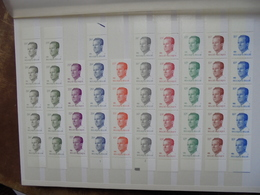 BELGIQUE MODERNE FACIALE NEUVE DONT PREOS (2047) 1 KILO 100 - Collections
