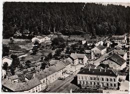 Brouvelieures ( Vosges ) L'Hotel De Ville - En Avion Au Dessus De ..... - Brouvelieures